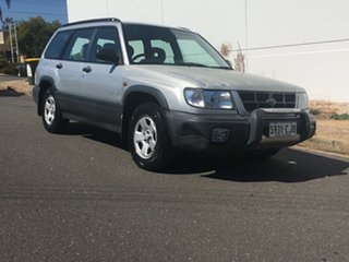 1997 Subaru Forester 79V Limited AWD Silver 4 Speed Automatic Wagon