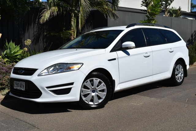 Used Ford Mondeo MB MY11 LX PwrShift TDCi Brighton, 2010 Ford Mondeo MB MY11 LX PwrShift TDCi White 6 Speed Sports Automatic Dual Clutch Wagon