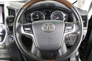 2016 Toyota Landcruiser VDJ200R MY16 Sahara (4x4) Graphite 6 Speed Automatic Wagon