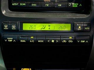 2005 Toyota Landcruiser Prado GRJ120R VX Black 5 Speed Automatic Wagon
