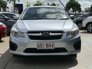 2014 Subaru Impreza G4 MY14 2.0i Lineartronic AWD Silver 6 Speed Constant Variable Hatchback.
