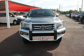 2017 Toyota Hilux GUN126R SR5 Double Cab Graphite 6 Speed Sports Automatic Utility.