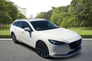 2020 Mazda 6 GL1033 GT SKYACTIV-Drive White 6 Speed Sports Automatic Wagon