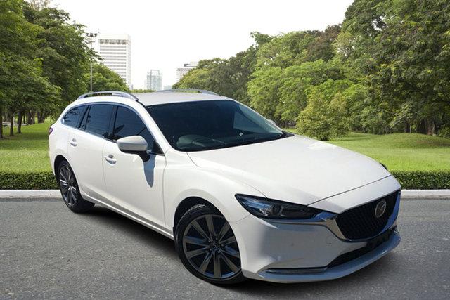 Used Mazda 6 GL1033 GT SKYACTIV-Drive Paradise, 2020 Mazda 6 GL1033 GT SKYACTIV-Drive White 6 Speed Sports Automatic Wagon