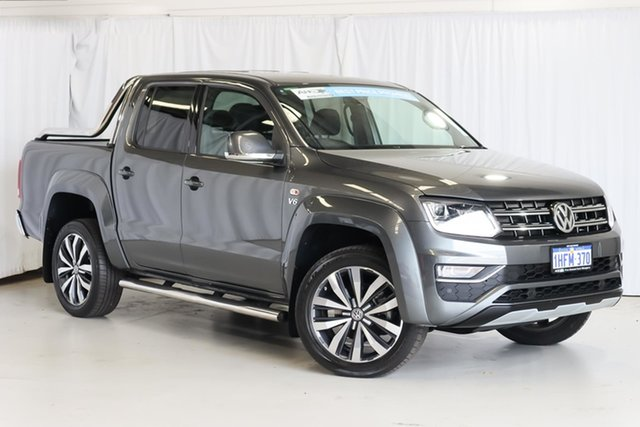 Used Volkswagen Amarok 2H MY19 TDI580 4MOTION Perm Ultimate Wangara, 2018 Volkswagen Amarok 2H MY19 TDI580 4MOTION Perm Ultimate Grey 8 Speed Automatic Utility