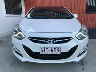 2012 Hyundai i40 VF Premium Tourer White 6 Speed Sports Automatic Wagon.