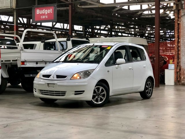 Used Mitsubishi Colt RG LS Mile End South, 2005 Mitsubishi Colt RG LS White 1 Speed Constant Variable Hatchback