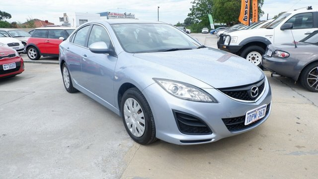 Used Mazda 6 GH1051 MY09 Classic St James, 2010 Mazda 6 GH1051 MY09 Classic Blue 6 Speed Manual Sedan
