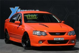 2004 Ford Falcon BA Mk II XR8 Orange 4 Speed Sports Automatic Sedan.