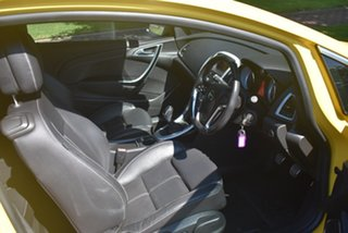 2012 Opel Astra AS GTC Sport Yellow 6 Speed Manual Hatchback