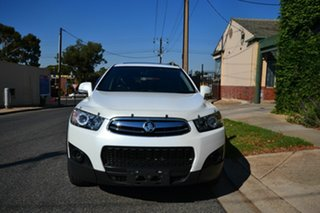 2013 Holden Captiva CG MY12 7 SX (FWD) White 6 Speed Automatic Wagon.