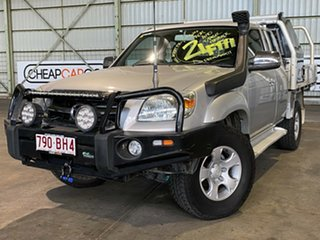 2010 Mazda BT-50 UNY0E4 SDX Freestyle Silver 5 Speed Automatic Utility.