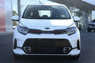 2020 Kia Picanto JA MY21 GT-Line Clear White 4 Speed Automatic Hatchback
