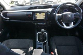 2015 Toyota Hilux GUN126R SR5 Double Cab White 6 Speed Manual Utility