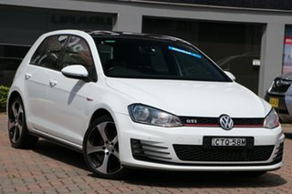 2014 Volkswagen Golf VII MY14 GTI DSG White 6 Speed Sports Automatic Dual Clutch Hatchback.