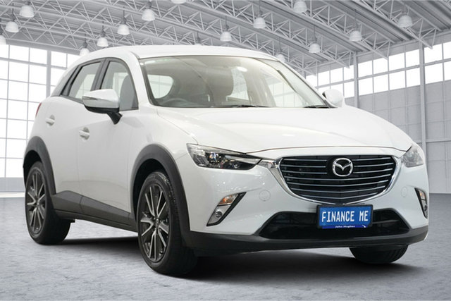 Used Mazda CX-3 DK2W7A sTouring SKYACTIV-Drive Victoria Park, 2015 Mazda CX-3 DK2W7A sTouring SKYACTIV-Drive Beige 6 Speed Sports Automatic Wagon