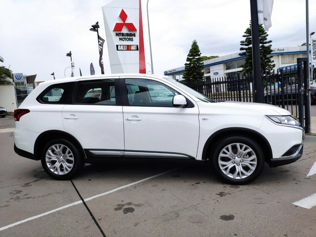New Mitsubishi Outlander ZL MY21 ES AWD Hamilton, 2021 Mitsubishi Outlander ZL MY21 ES AWD White Solid 6 Speed Constant Variable Wagon