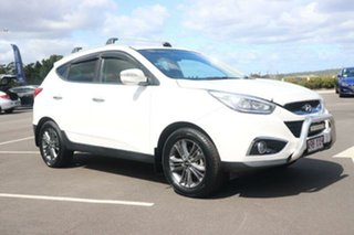 2014 Hyundai ix35 LM3 MY14 SE White 6 Speed Sports Automatic Wagon.