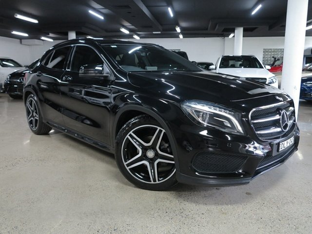Used Mercedes-Benz GLA-Class X156 806MY GLA200 d DCT Albion, 2016 Mercedes-Benz GLA-Class X156 806MY GLA200 d DCT Black 7 Speed Sports Automatic Dual Clutch