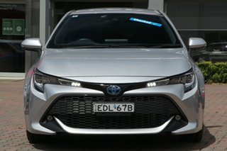 2019 Toyota Corolla ZWE211R SX E-CVT Hybrid Silver 10 Speed Constant Variable Hatchback Hybrid