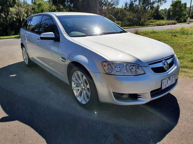 Used Holden Berlina International Geelong, 2011 Holden Berlina VE Series II International Silver Sports Automatic Wagon