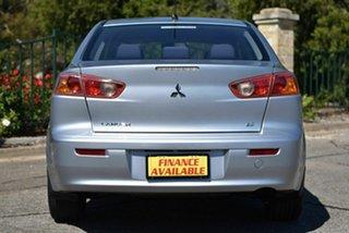 2008 Mitsubishi Lancer CJ MY09 ES Silver 5 Speed Manual Sedan