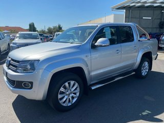 2013 Volkswagen Amarok 2H MY13 TDI420 4Motion Perm Highline Silver 8 Speed Automatic Utility