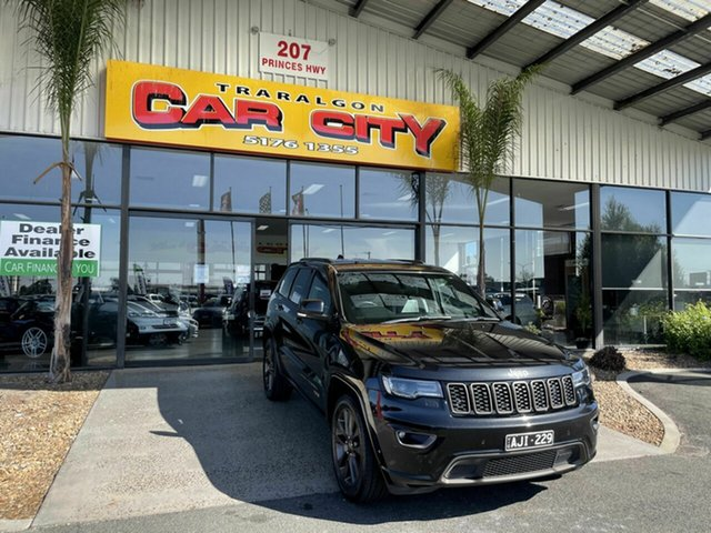 Used Jeep Grand Cherokee WK MY16 75th Anniversary (4x4) Traralgon, 2016 Jeep Grand Cherokee WK MY16 75th Anniversary (4x4) Grey 8 Speed Automatic Wagon