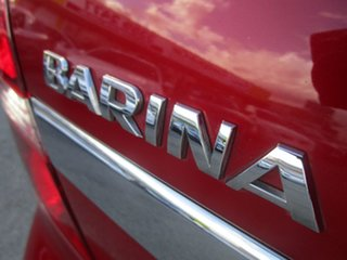 2011 Holden Barina TK MY11 Red 4 Speed Automatic Sedan