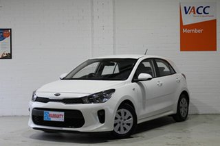 2017 Kia Rio YB MY17 S White 4 Speed Sports Automatic Hatchback.