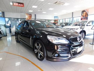 2014 Holden Commodore VF MY14 SV6 Storm Black 6 Speed Sports Automatic Sedan.