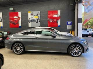 2017 Mercedes-Benz C-Class C205 C300 Mountain Grey Sports Automatic Coupe