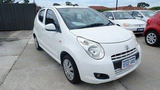 2013 Suzuki Alto GF GL White 4 Speed Automatic Hatchback.