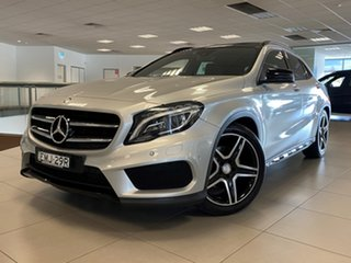 2015 Mercedes-Benz GLA250 4Matic X156 MY15 Polar Silver 7 Speed Auto Dual Clutch Wagon.