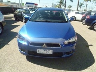 2009 Mitsubishi Lancer CJ MY09 VR Blue 6 Speed Constant Variable Sedan.