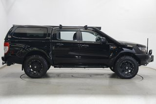 2017 Ford Ranger PX MkII XLS Double Cab Black 6 Speed Sports Automatic Utility