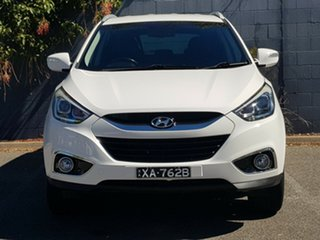 2014 Hyundai ix35 LM3 MY14 Trophy White 6 Speed Manual Wagon.