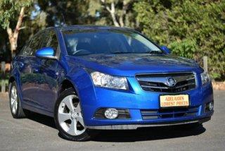 2009 Holden Cruze JG CDX Blue 5 Speed Manual Sedan.