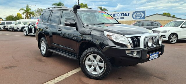 Used Toyota Landcruiser Prado KDJ150R MY14 GXL East Bunbury, 2014 Toyota Landcruiser Prado KDJ150R MY14 GXL Black 5 Speed Sports Automatic Wagon