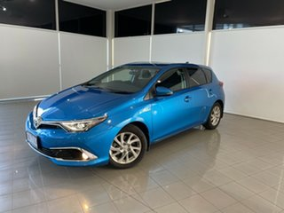 2017 Toyota Corolla ZWE186R Hybrid E-CVT Blue 1 Speed Constant Variable Hatchback Hybrid.