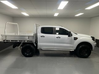 2017 Ford Ranger PX MkII XLS Double Cab Frozen White 6 Speed Sports Automatic Utility