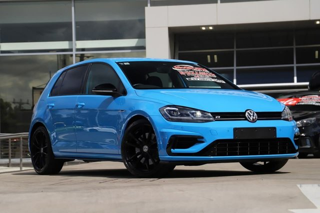 Used Volkswagen Golf 7.5 MY20 R DSG 4MOTION Final Edition Liverpool, 2020 Volkswagen Golf 7.5 MY20 R DSG 4MOTION Final Edition Victory Blue 7 Speed