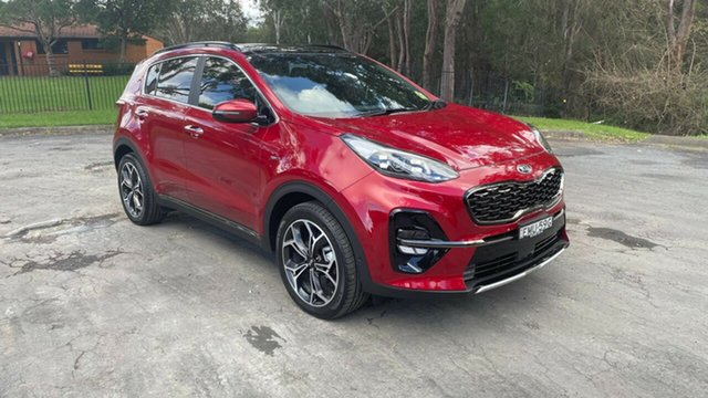 Used Kia Sportage QL MY21 GT-Line AWD Port Macquarie, 2021 Kia Sportage QL MY21 GT-Line AWD Fiery Red 8 Speed Sports Automatic Wagon