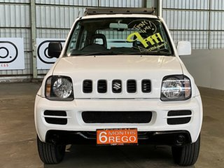 2005 Suzuki Jimny SN413 T5 JX White 5 Speed Manual Hardtop