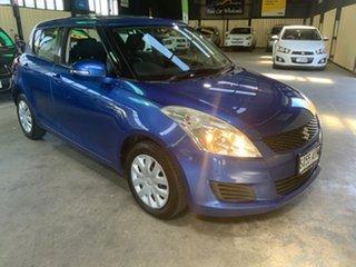 2011 Suzuki Swift FZ GL Blue 5 Speed Manual Hatchback.