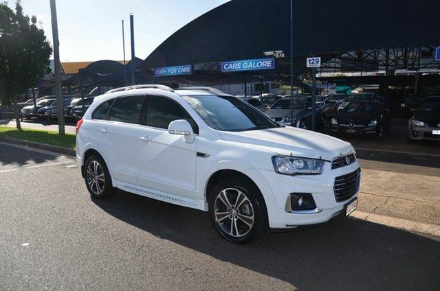 Used Holden Captiva CG MY17 7 LTZ (AWD) Toowoomba, 2016 Holden Captiva CG MY17 7 LTZ (AWD) White 6 Speed Automatic Wagon
