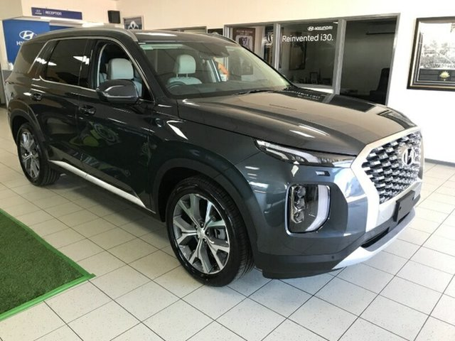 New Hyundai Palisade LX2.V1 MY21 Highlander AWD Melton, 2021 Hyundai Palisade LX2.V1 MY21 Highlander AWD Steel Graphite 8 Speed Sports Automatic Wagon