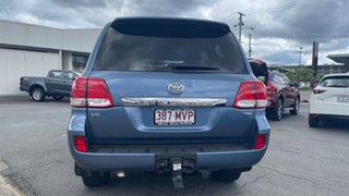 2010 Toyota Landcruiser VDJ200R MY10 VX Pacific Blue 6 Speed Sports Automatic Wagon