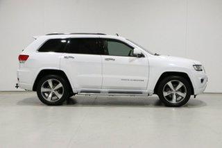2013 Jeep Grand Cherokee WK MY14 Overland (4x4) White 8 Speed Automatic Wagon