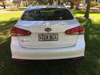 2017 Kia Cerato YD MY17 S Premium White 6 Speed Sports Automatic Sedan